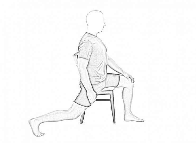 Hip Flexor Stretch v2-2 | Hip Stretches & Quad Stretches
