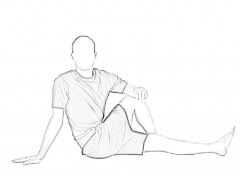 Long Sitting 2 | Glute Stretches