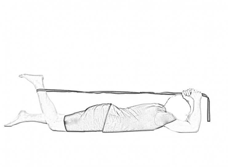 Prone Quad Stretch 1 | Hip Stretches & Quad Stretches