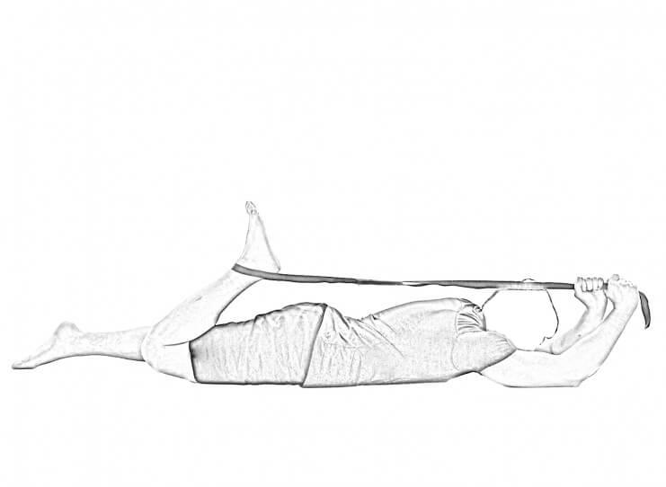 Prone Quad Stretch-2 | Hip Stretches & Quad Stretches