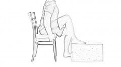 Sitting-Hamstring-Stretch-v1-1 | Hamstring Stretches