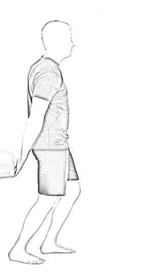 Standing Bicep Stretch 2