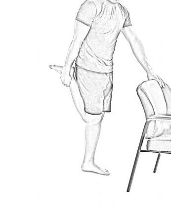 Standing Quad Stretch-2 |Hip Stretches & Quad Stretches