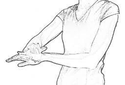 Supinator Stretch 2 | Forearm Stretches