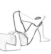 Supine Figure 4-1 | Glute Stretches