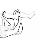 Supine Figure 4-2 | Glute Stretches