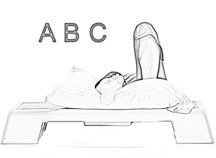 Ankle alphabet_A