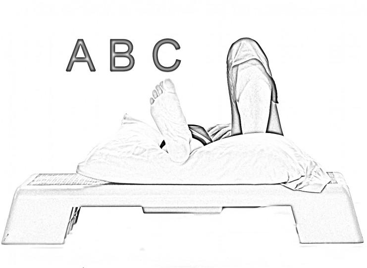 Ankle alphabet_B