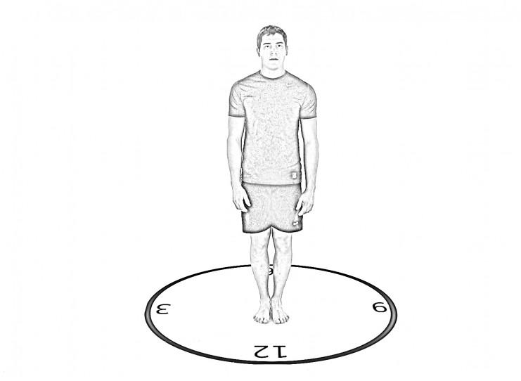 Single Leg Stance (SLS) Clock - A