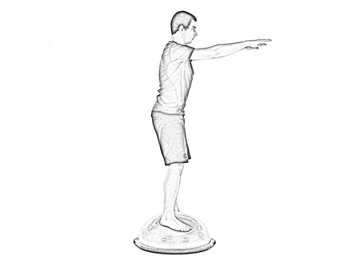 Stabilization Squat - A