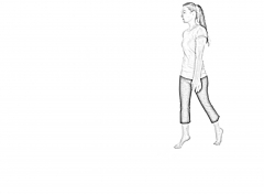 Toe Walk - A