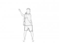 Backswing warm-up 2-1