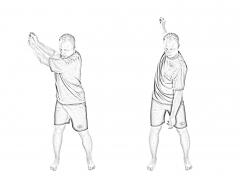 Backswing warm-up 2-2