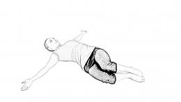 Bent Knee Twist - 1