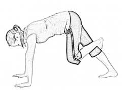 Dynamic calf stretch-1