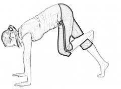 Dynamic calf stretch-2