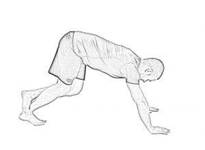 Dynamic soleus stretch-1