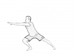 Lateral lunge plus rotation-1