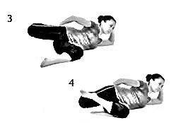 Pretzel Stretch Quadriceps Stretch - 2