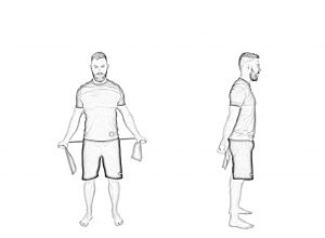 Shoulder mobility with band-2