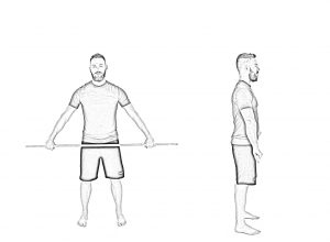 Shoulder mobility with stick-1