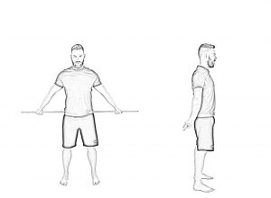 Shoulder mobility with stick-2