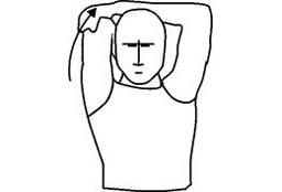 Triceps Stretch Flexibility Shoulder Stretching