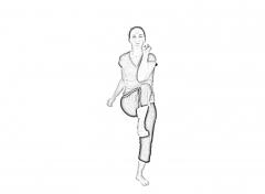 Warm-up Knee-elbow-2
